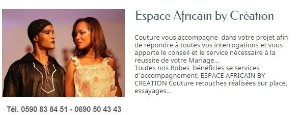 ESPACE AFRICAN GUADELOUPE