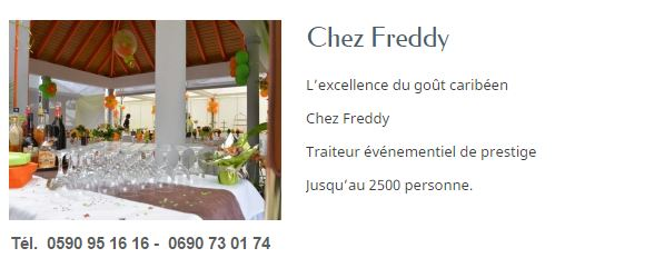 CHEZ FREDDY GUADELOUPE
