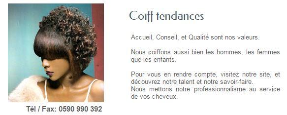 COIFF-TENDANCES