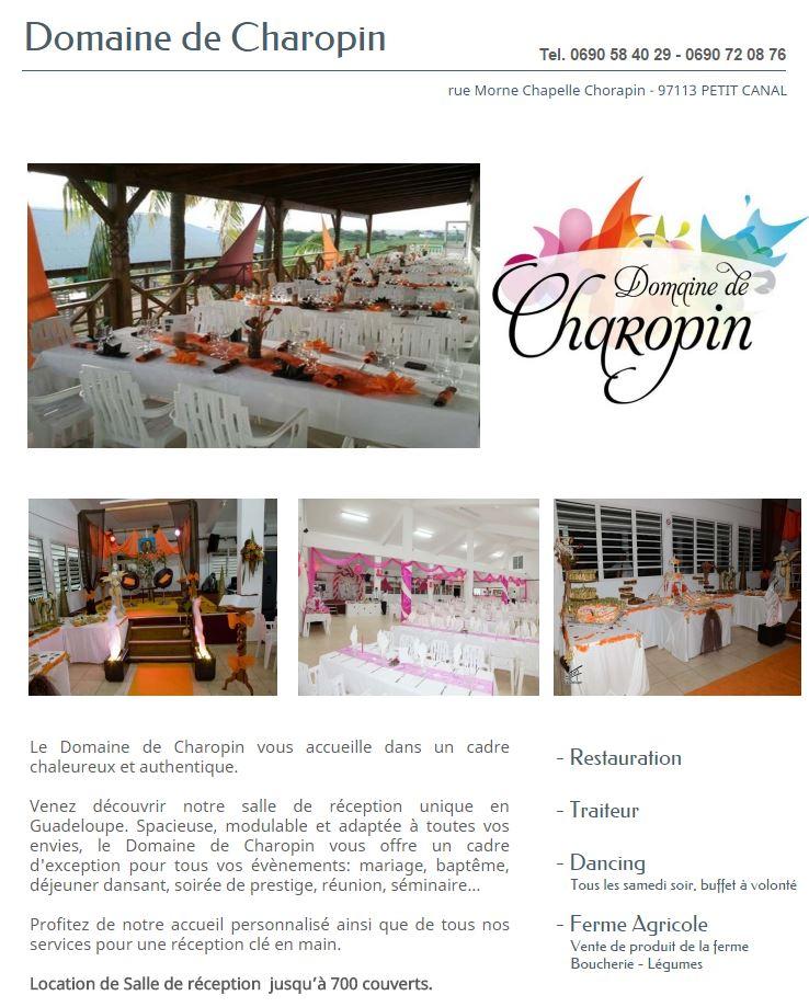 DOMAINE DE CHAROPIN GUADELOUPE1