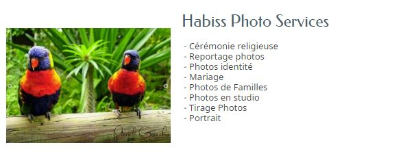 HABISS PHOTO SERVICES