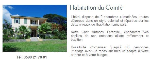 HABITATION DU COMTE GUADELOUPE1
