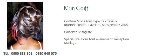 K RIN COIFF