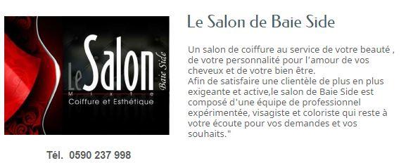 LE SALON DE BAIE SIDE