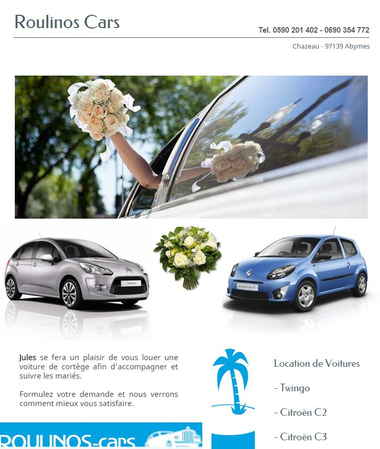 ROULINOS CARS GUADELOUPE